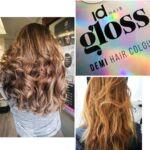 lækkert hår med idhair gloss Demi hair colour